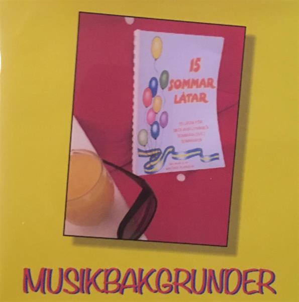 15 SOMMARLÅTAR  CD