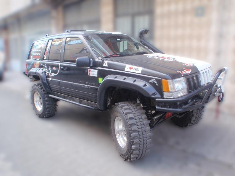 Skärmbreddare Correl Jeep ZJ