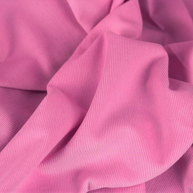 Fine Corduroy Plain, pastel pink
