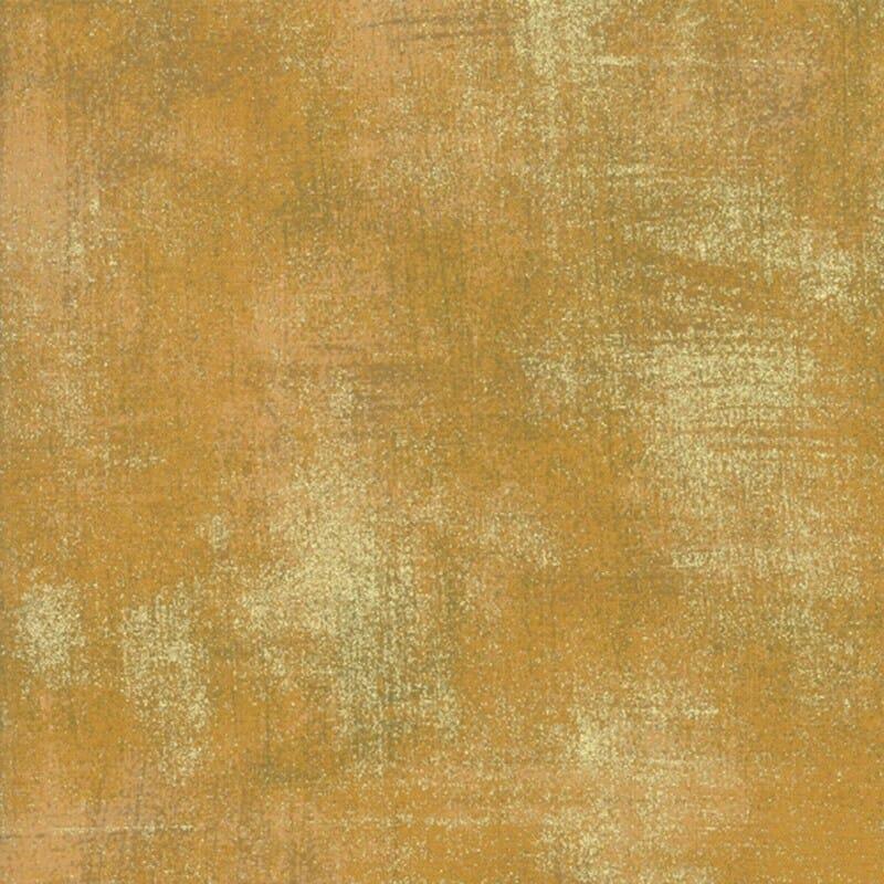 Moda: Grunge Harvest gold metallic