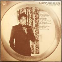 COHEN LEONARD: THE BEST OF (COLUMBIA USA 1975)-KÄYTETTY LP
