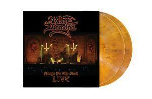 KING DIAMOND: SONGS FOR THE DEAD-LIVE TRANSPARENT AMBER 2LP