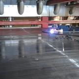 Svetsning av sprickor i stålband