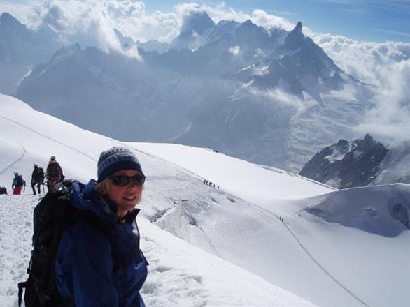 Mt Blanc, Chamonix, Frankrike