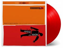 ELLINGTON DUKE AND HIS ORCHESTRA: ANATOMY OF A MURDER-RED LP