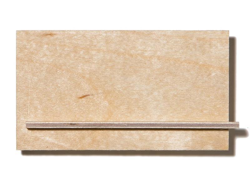 Flyfinér bjørk 1,5 x 245 x 490mm