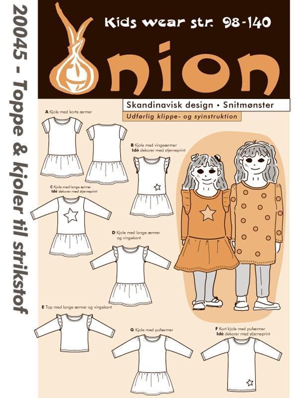Onion: 20045 Topper & kjoler til strikkstoff