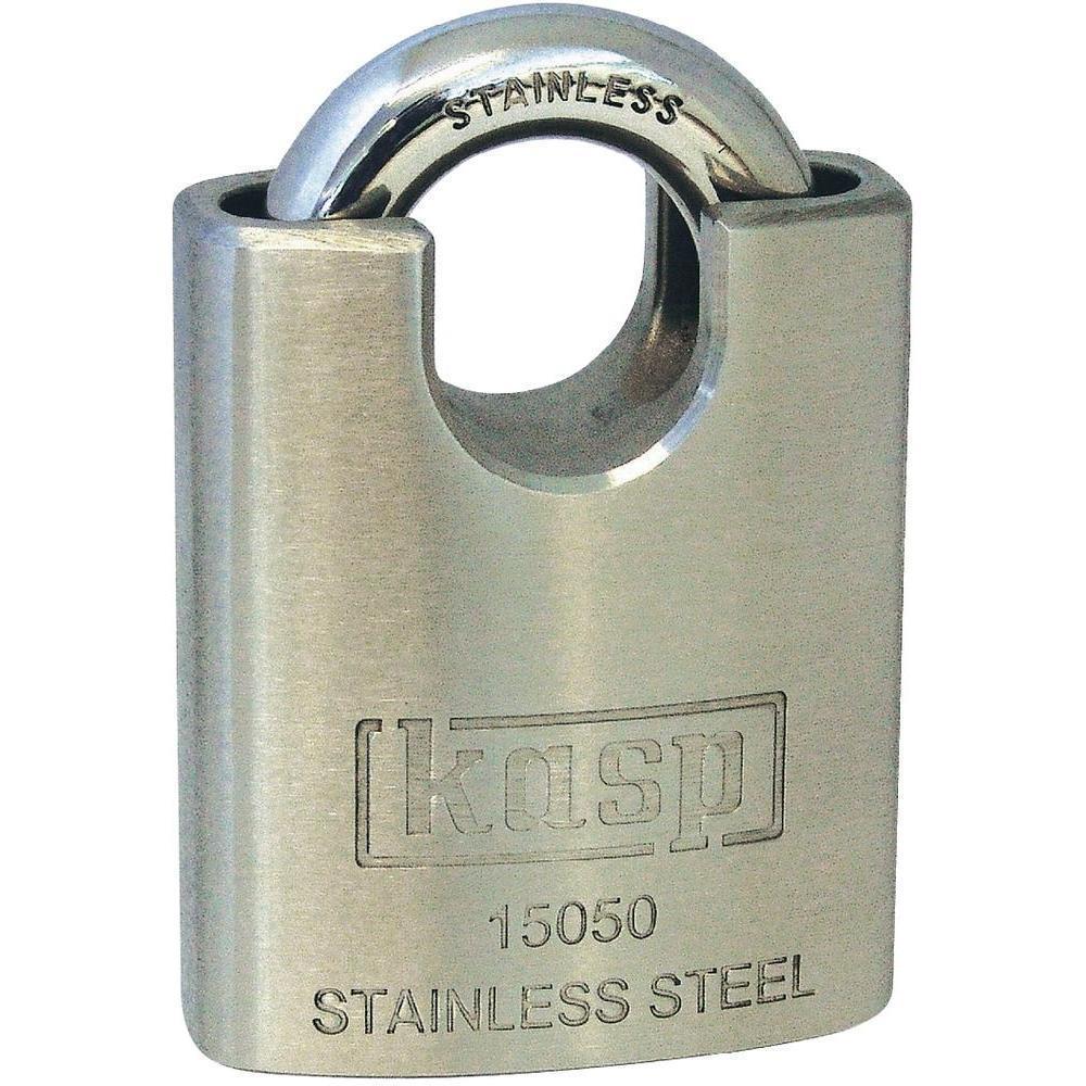Hänglås rostfritt stål  - 50mm