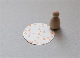 Stempel Small Hjertekonfetti