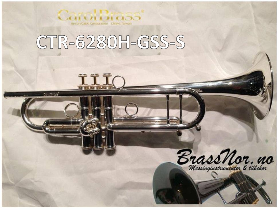 Bb trompet CTR-6280H-GSS-S