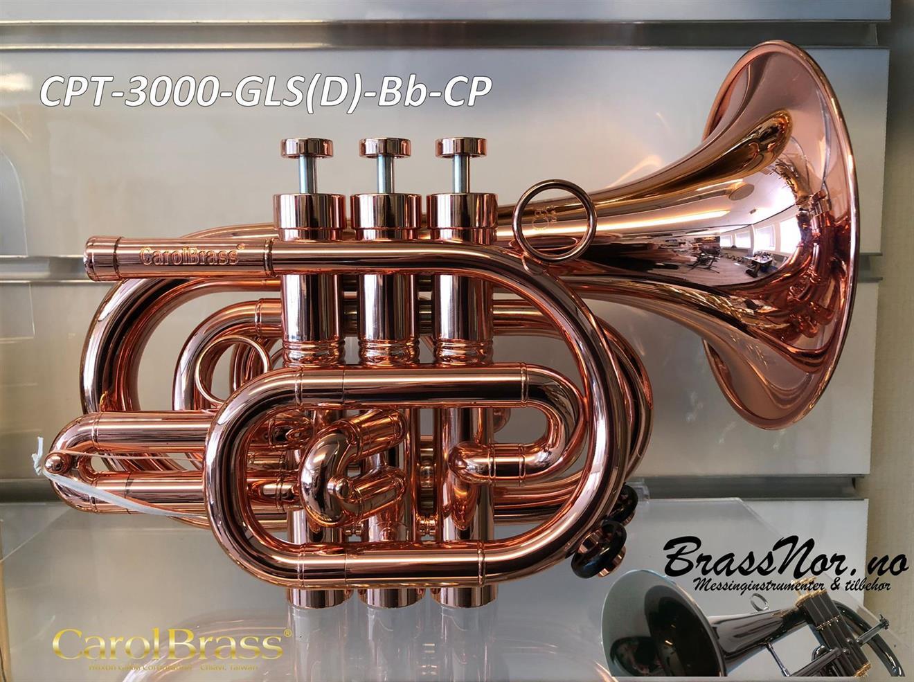 Pocket trompet CPT-3000-GLS(D) Bb CP