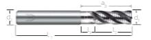 Rhino Inox MILL 4 flt 39°/41° EMCA.1100M.1400