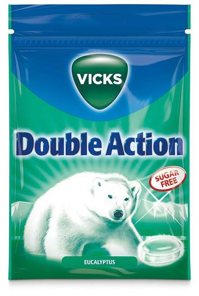 Vicks Double Action Sockerfri