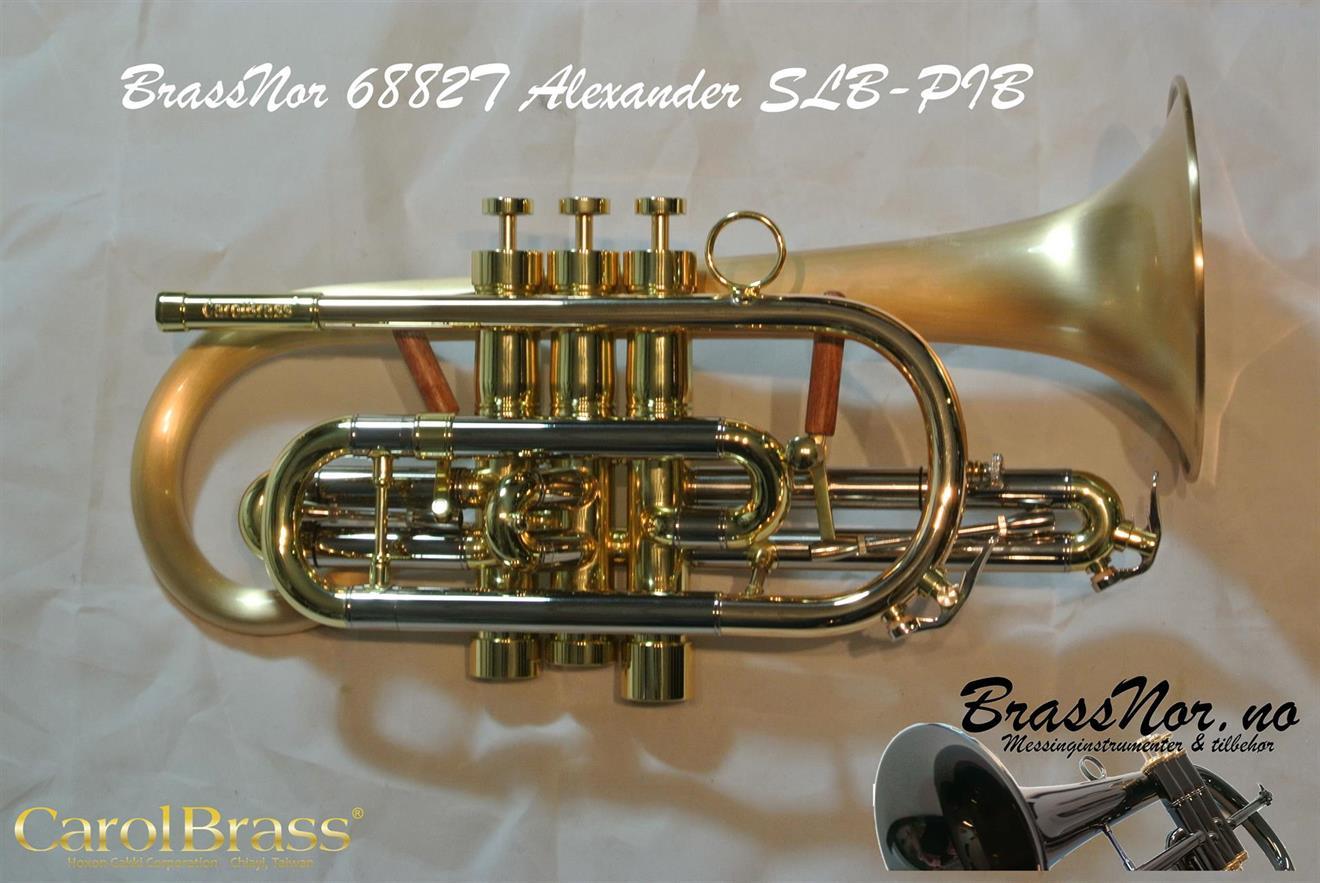 BrassNor Alexander 6882T SLB-PIB kornett