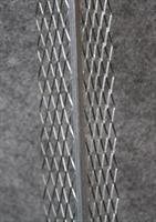 Sisärappauskulmalista Sinkitty  15mm 51x51mm 250cm / 15kpl