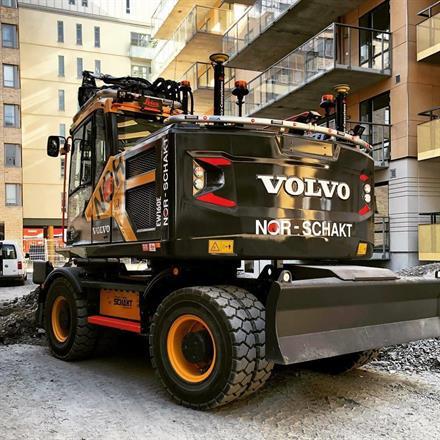Volvo ew 160 e