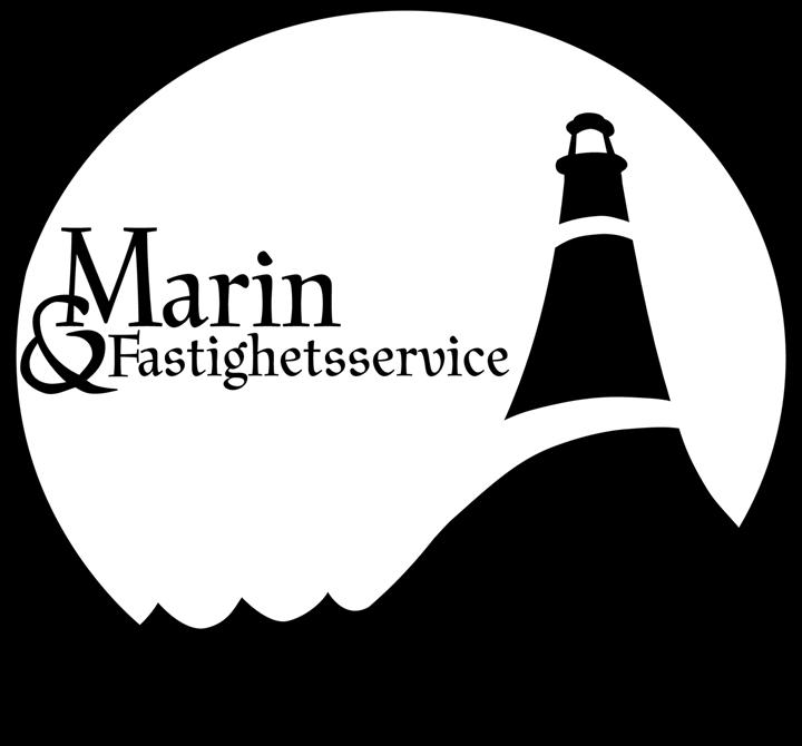 Marin och fastighet logga