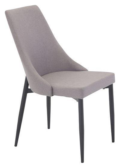 Leone 2.0 matstol grå/svart