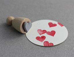 Stempel Small Hjerte
