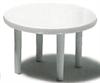 Bord hvit runde 4 ben 1:50  Ø 120 cm (10)