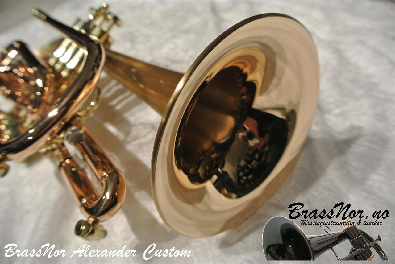 BrassNor Alexander Custom SLB-PIB kornett
