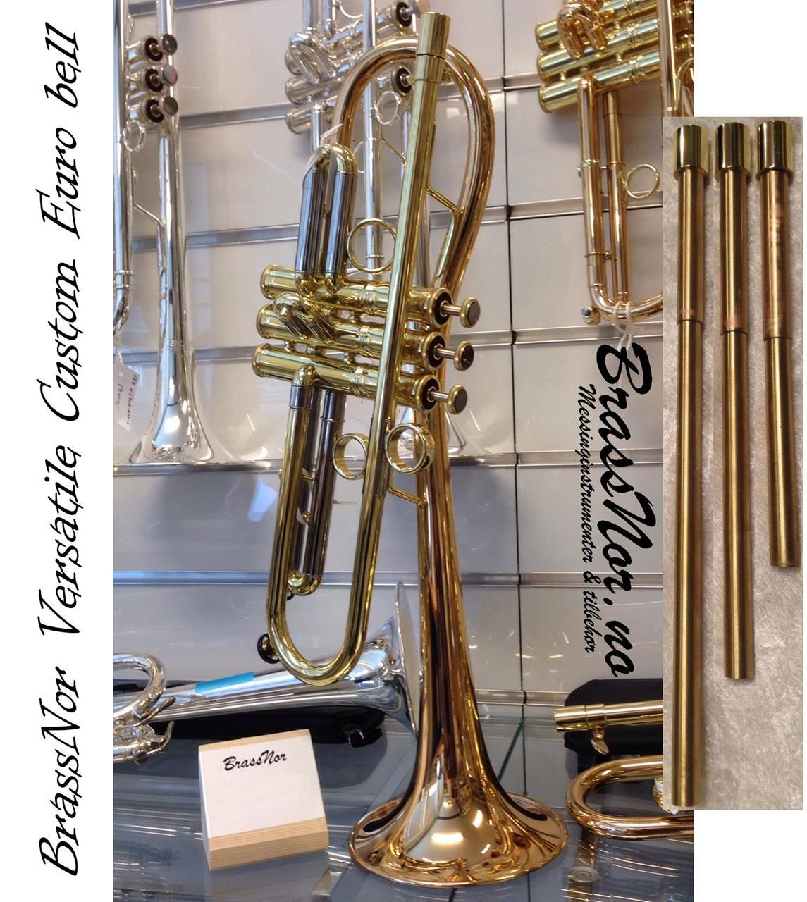 "Bb Trompet BrassNor Versatile Custom2 ""Euro"" lakk"
