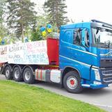 I dag kör vi värdefull last i Nässjö