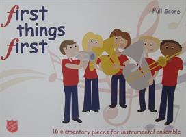 FIRST THINGS FIRST - SCORE - VOL 1