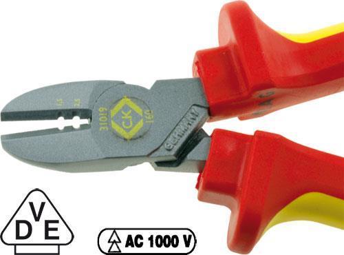 Sidavbitare med skalfunktion C.K RedLine VDE 160