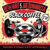 HART BETH & JOE BONAMASSA: BLACK COFFEE-LIMITED RED 2LP