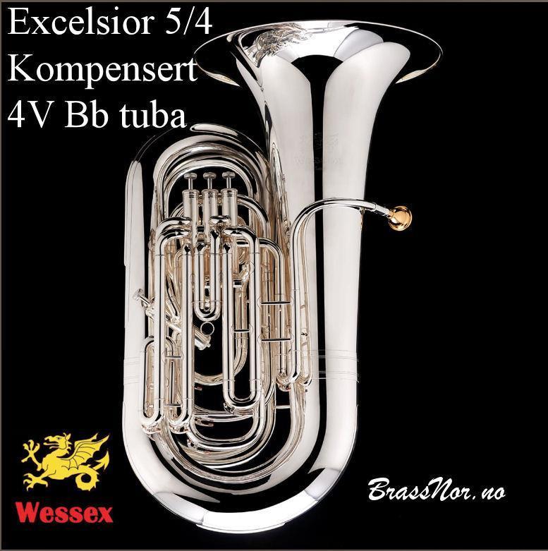 Wessex Excelsior Custom BBb tuba sølv