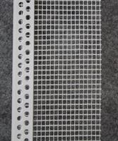 Päätösprofiili PVC-verkolla 165g/m2, 6x2000mm / 25 kpl