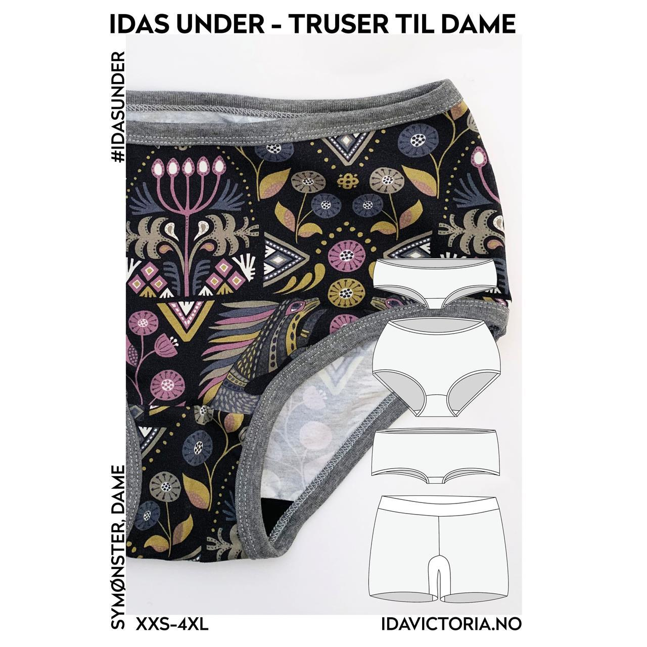 Idas under - truser til dame