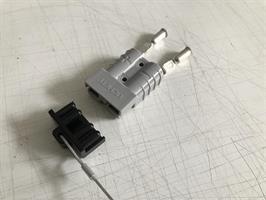 Snabbkontakt 50A Typ Truckladdare inkl skyddplugg