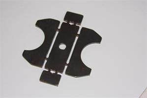 Spoafäste axelrördiameter 65mm