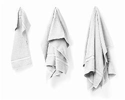 Handduk vit 50 X 70 cm