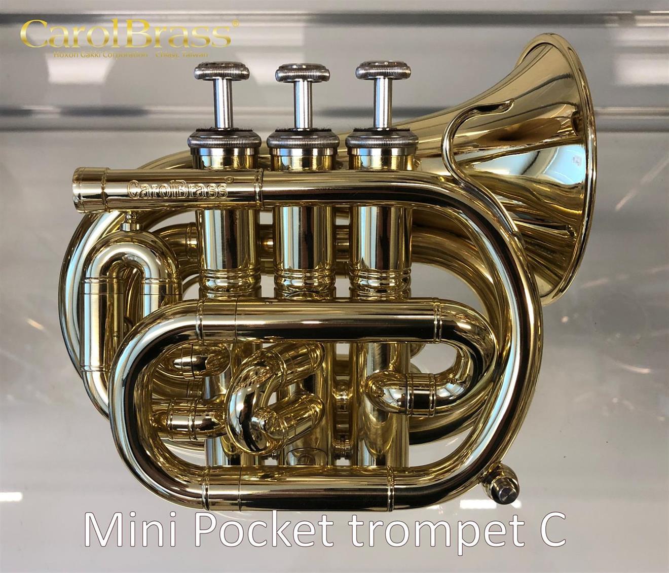 CarolBrass mini pocket trompet C