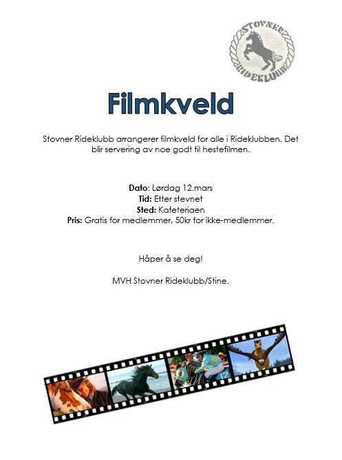 Filmkveld for store og små