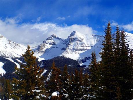 Banff - Mount Norquay, Sunshine Village och Lake Louise – Alberta, Kanada