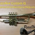 Quarter tone trompet - raw brass (brukt)