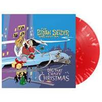 SETZER BRIAN ORCHESTRA: DIG THAT CRAZY CHRISTMAS-RED LP