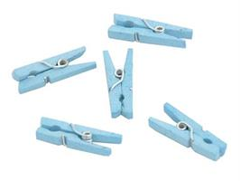 Miniklype Lysblå 20stk