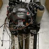 Pera kommer att fixa till Yanmarmotorn