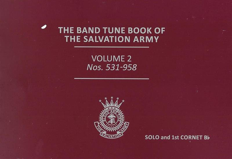 NEW BAND TUNE BOOK OF THE S.A. - VOL 2