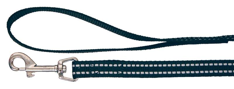 Reflekskobbel svart 15 x 190