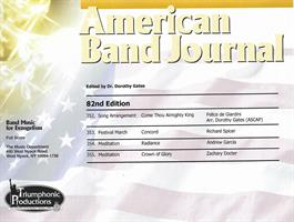 AMERICAN BAND JOURNAL No 352 - 355