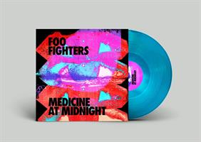 FOO FIGHTERS: MEDICINE AT MIDNIGHT-INDIE ONLY BLUE LP