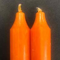 Orange Rustik Kronelys