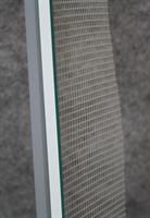 Ikkunalista PVC 9mm verkko 120mm harmaa GEL - 2500mm / 60 kpl