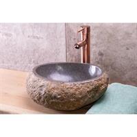Granieten Waskom Grey Ovaal 40cm
